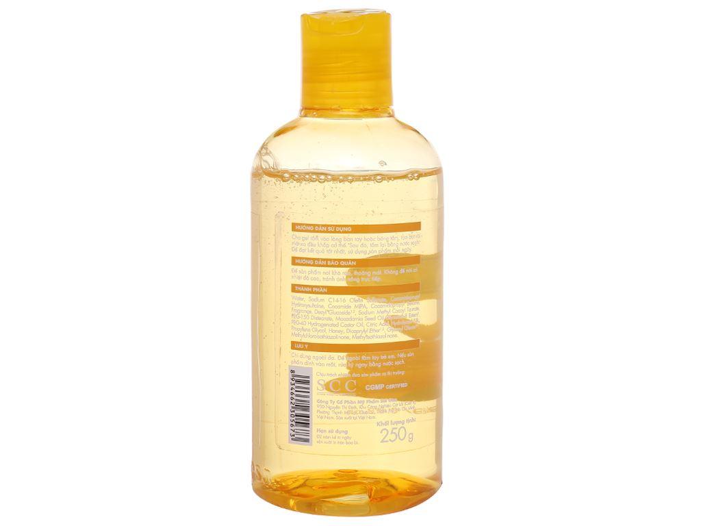 Gel tắm dưỡng ẩm Fresh Organic mật ong Manuka 250g 3