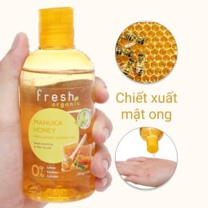 Gel tắm dưỡng ẩm Fresh Organic mật ong Manuka 250g