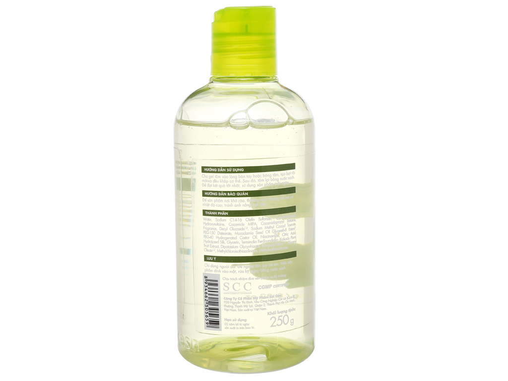Gel tắm sáng da Fresh Organic mận Kakadu 250g 2