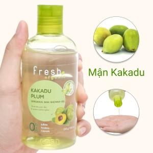Gel tắm sáng da Fresh Organic mận Kakadu 250g