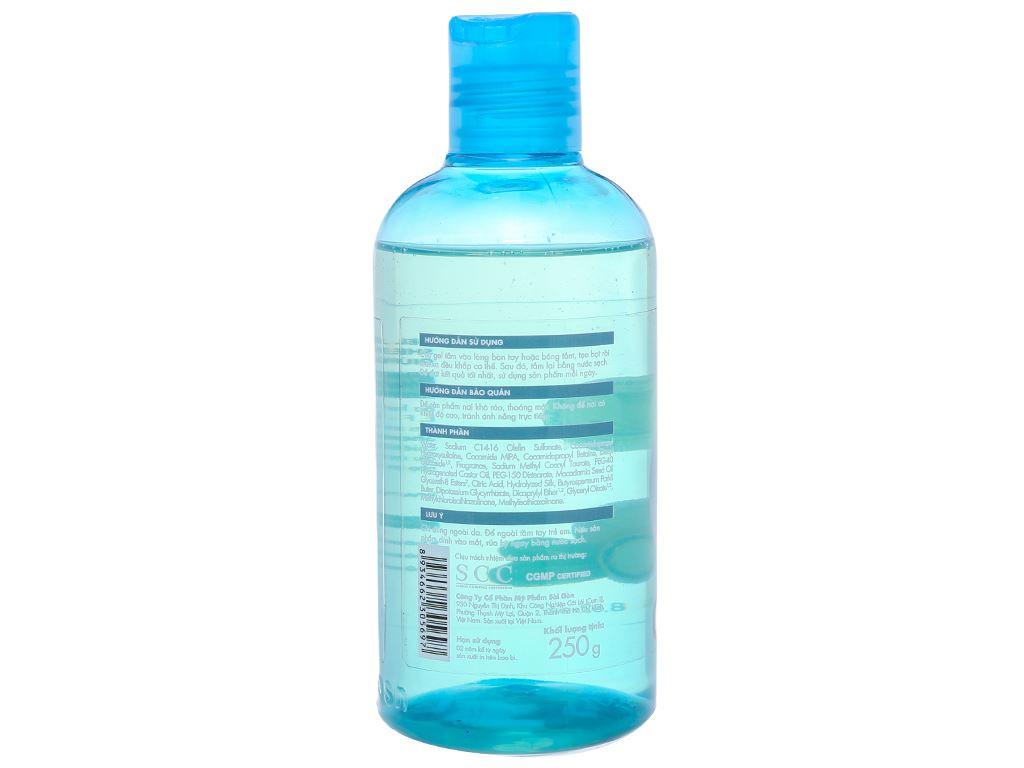 Gel tắm cho da nhạy cảm Fresh Organic bơ hạt mỡ và dưỡng chất 250g 3