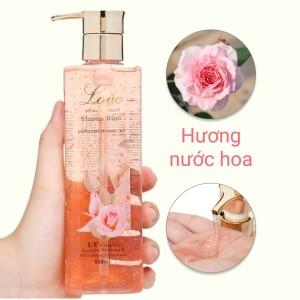 Gel tắm nước hoa Love Vitamin 550ml