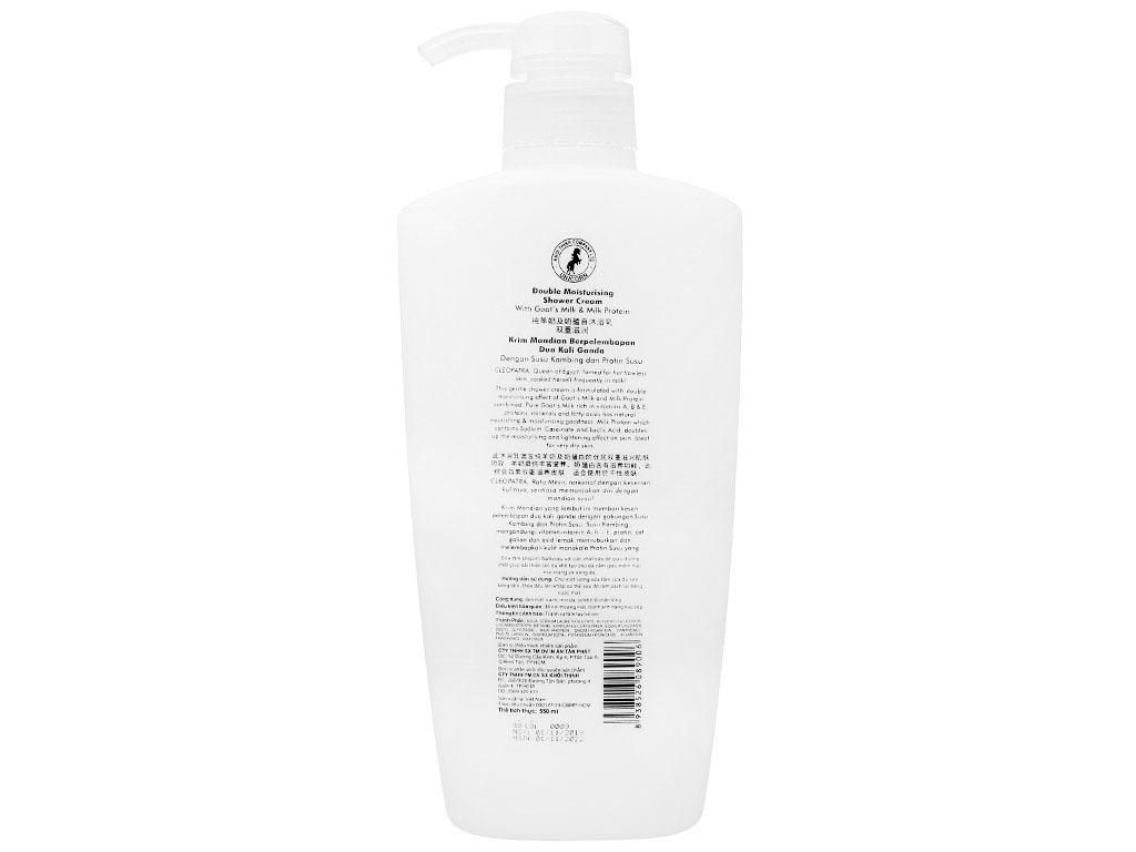 Sữa tắm Unicorn Naturally tinh chất sữa dê 550ml 2
