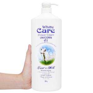 Sữa tắm Unicorn White Care tinh chất sữa dê 2 lít