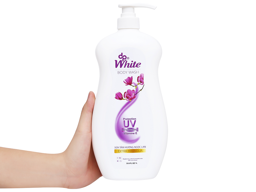 Sữa tắm dpWhite Extra Magnolia hương ngọc lan 1 lít 4