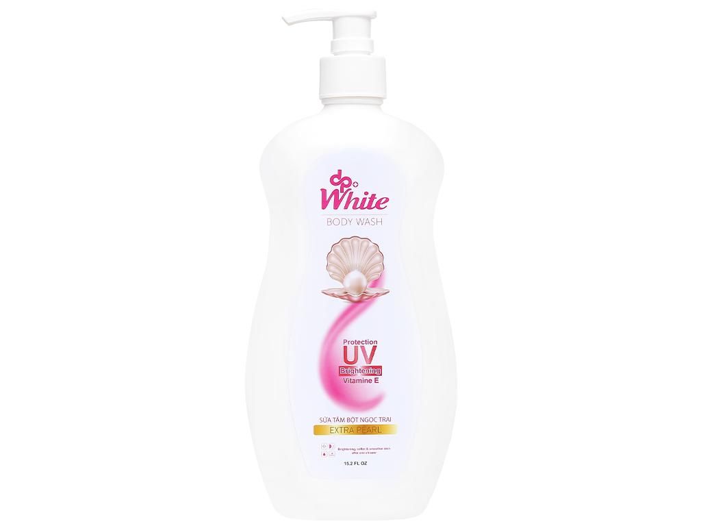 Sữa tắm dpWhite bột ngọc trai 450ml 1
