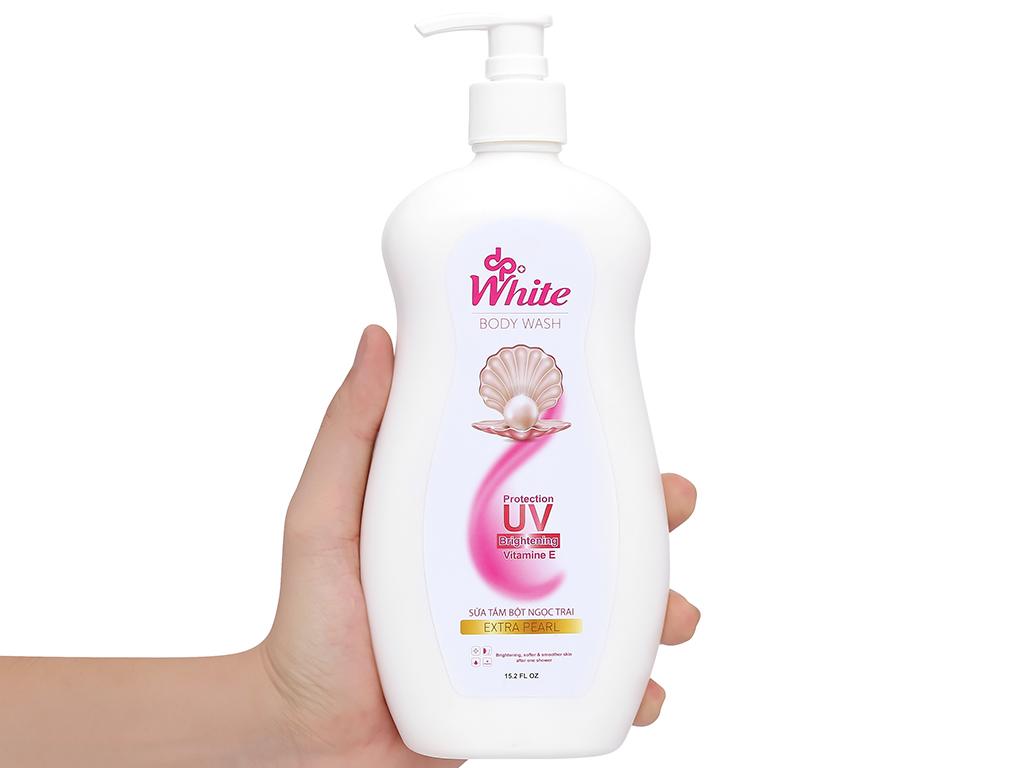 Sữa tắm dpWhite bột ngọc trai 450ml 4