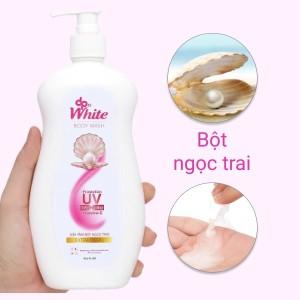 Sữa tắm dpWhite bột ngọc trai 450ml