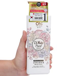 Sữa tắm dưỡng trắng ON THE BODY hương nước hoa 500g