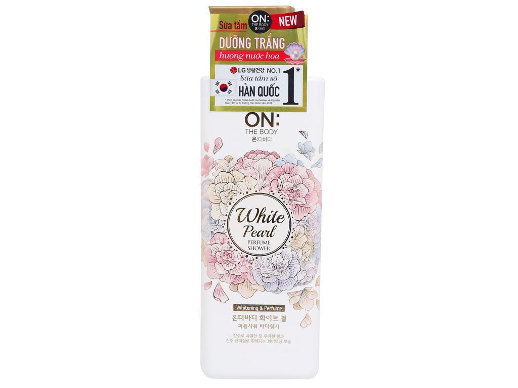 Sữa tắm dưỡng trắng ON THE BODY hương nước hoa 500g 1