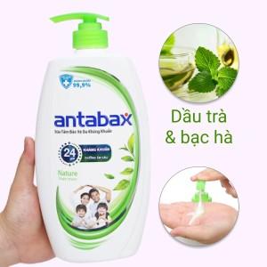 Sữa tắm bảo vệ da kháng khuẩn Antabax Nature thiên nhiên 900ml