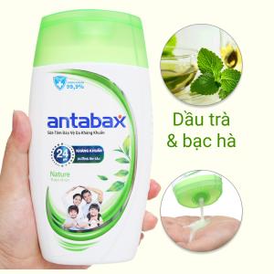 Sữa tắm bảo vệ da kháng khuẩn Antabax Nature thiên nhiên 220ml