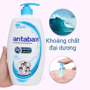 Sữa tắm bảo vệ da kháng khuẩn Antabax Fresh sảng khoái 900ml