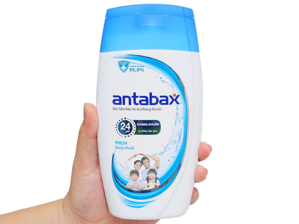 Sữa tắm bảo vệ da kháng khuẩn Antabax Fresh sảng khoái 220ml 4