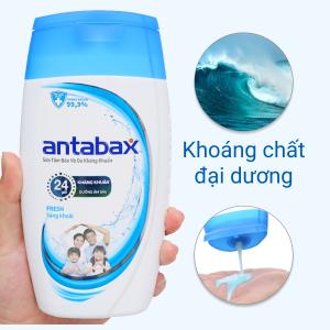 Sữa tắm bảo vệ da kháng khuẩn Antabax Fresh sảng khoái 220ml