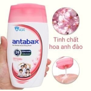 Sữa tắm bảo vệ da kháng khuẩn Antabax UV White trắng sáng 220ml