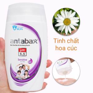 Sữa tắm bảo vệ da kháng khuẩn Antabax Sensitive cho da nhạy cảm 220ml