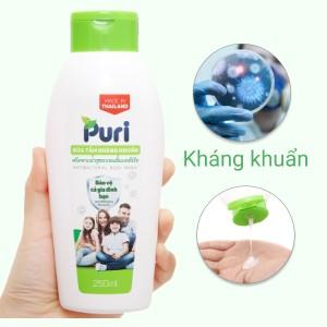 Sữa tắm kháng khuẩn Puri 250ml