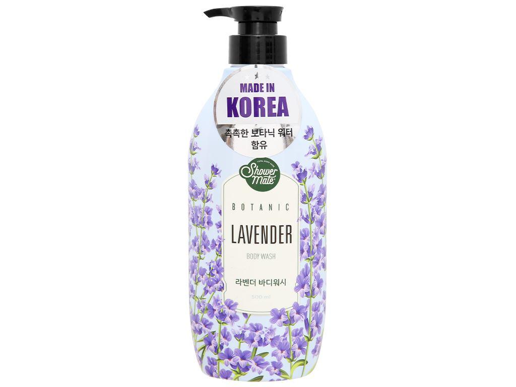 Sữa tắm Shower Mate hương lavender 500ml 1