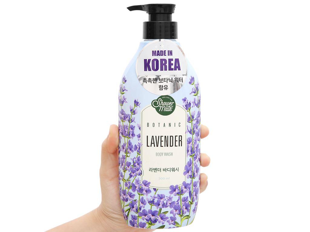 Sữa tắm Shower Mate hương lavender 500ml 4