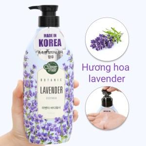 Sữa tắm Shower Mate hương lavender 500ml
