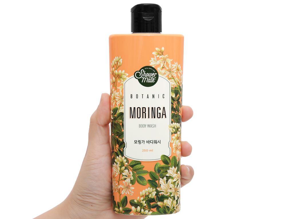 Sữa tắm Shower Mate hương moringa 250ml 4