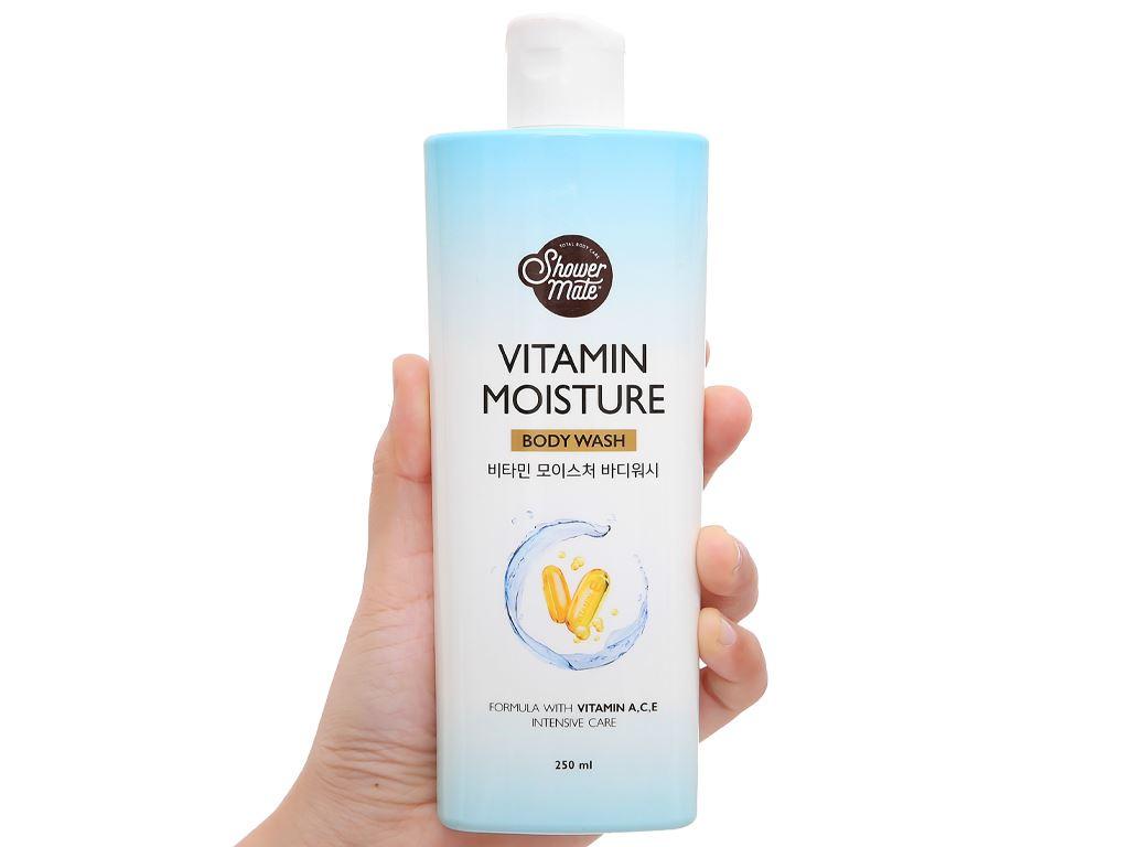 Sữa tắm dưỡng ẩm Shower Mate 250ml 4