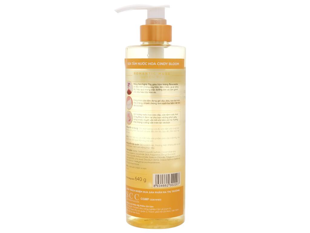 Sữa tắm nước hoa Cindy Bloom Romantic Muse 640g 2