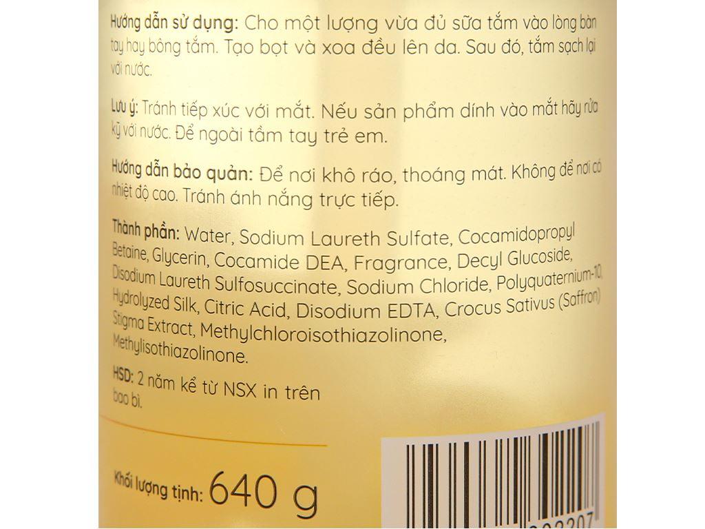 Sữa tắm nước hoa Cindy Bloom Romantic Muse 640g 3