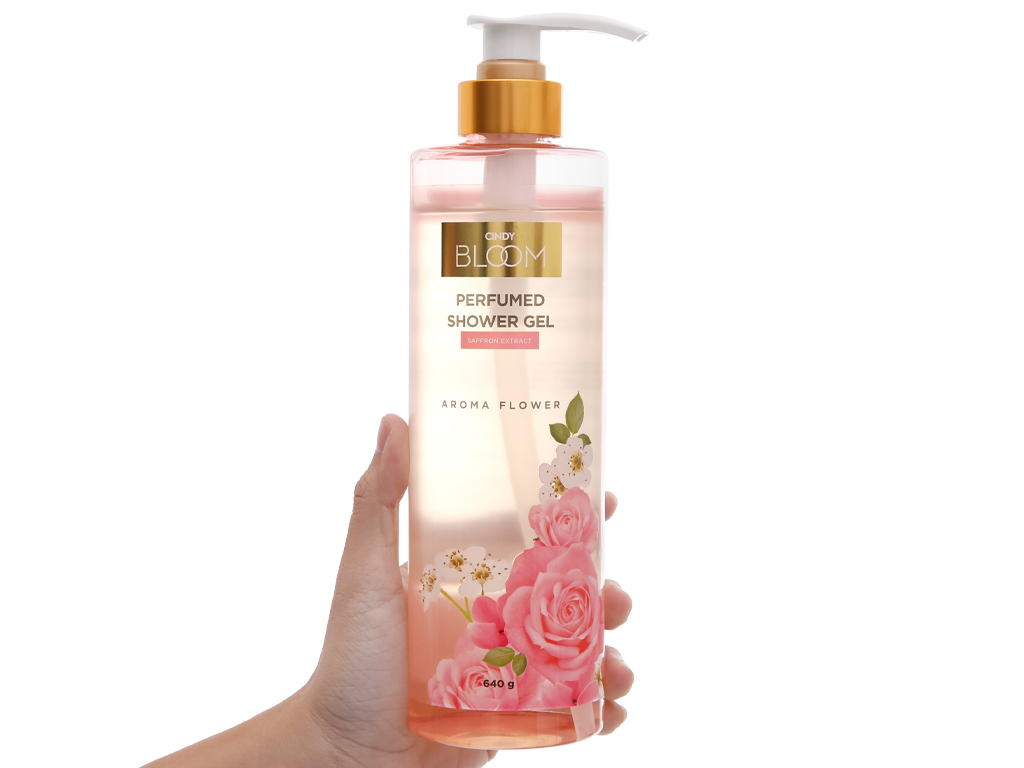 Sữa tắm nước hoa Cindy Bloom Aroma Flower 640g 5