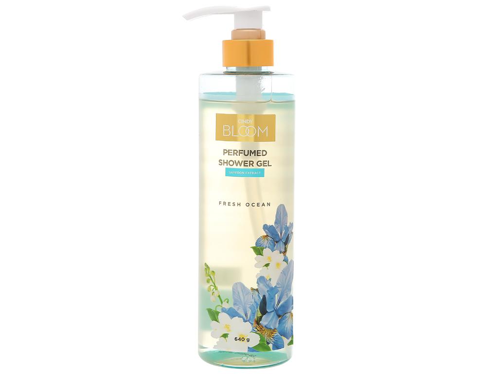 Sữa tắm nước hoa Cindy Bloom Fresh Ocean 640g 1