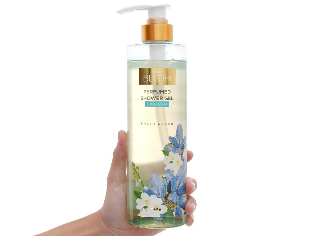 Sữa tắm nước hoa Cindy Bloom Fresh Ocean 640g 5