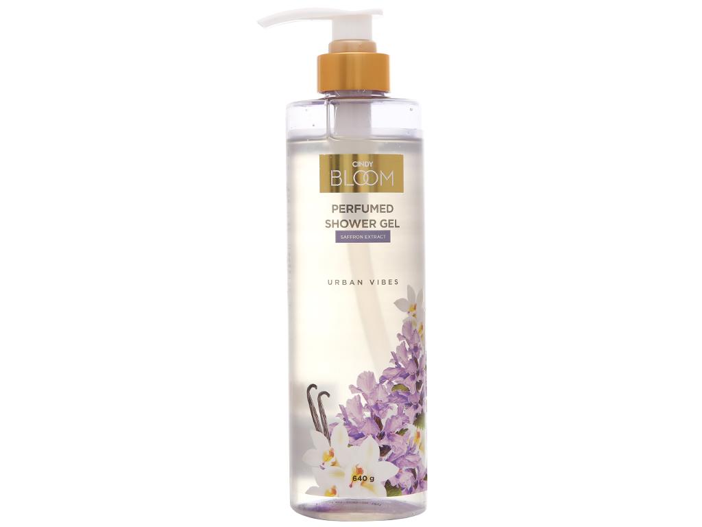 Sữa tắm nước hoa Cindy Bloom Urban Vibes 640g 1