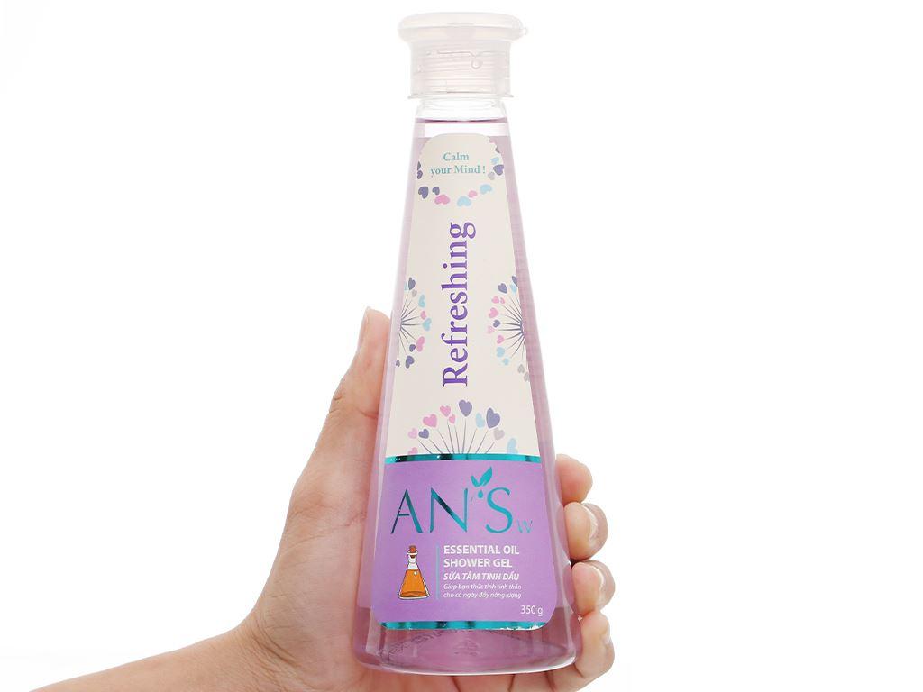 Gel tắm ANSw tinh dầu oải hương 350g 4