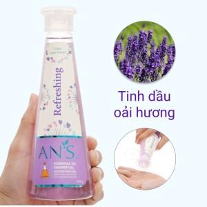 Gel tắm ANSw tinh dầu oải hương 350g