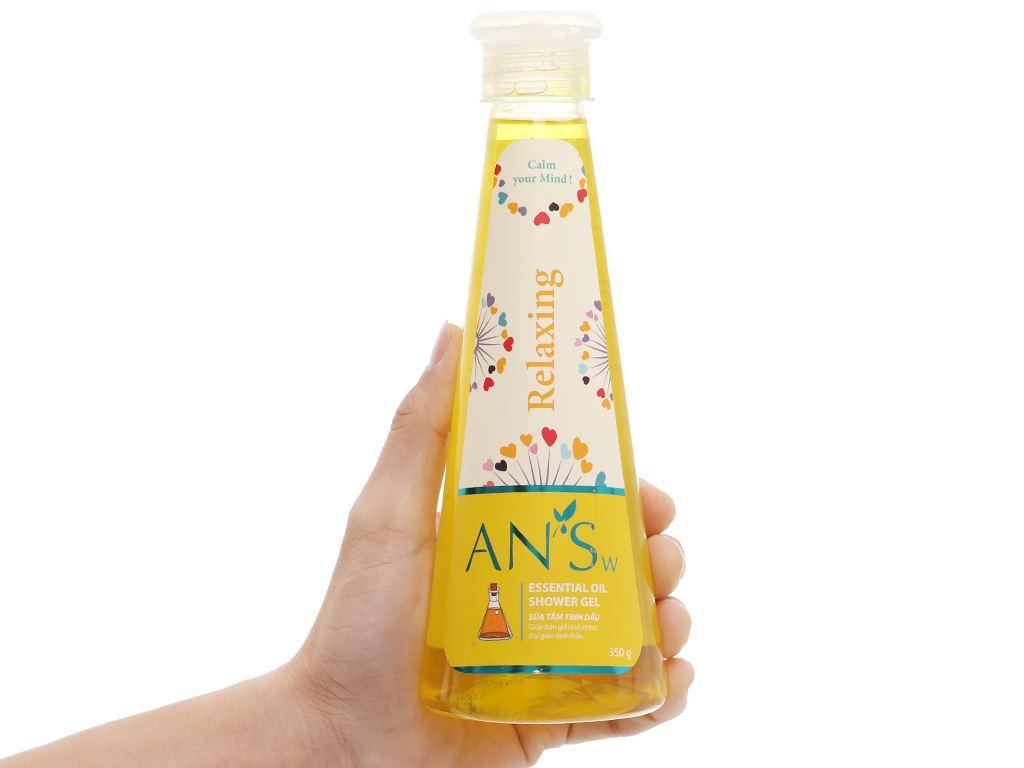 Gel tắm ANSw tinh dầu sả chanh 350g 5