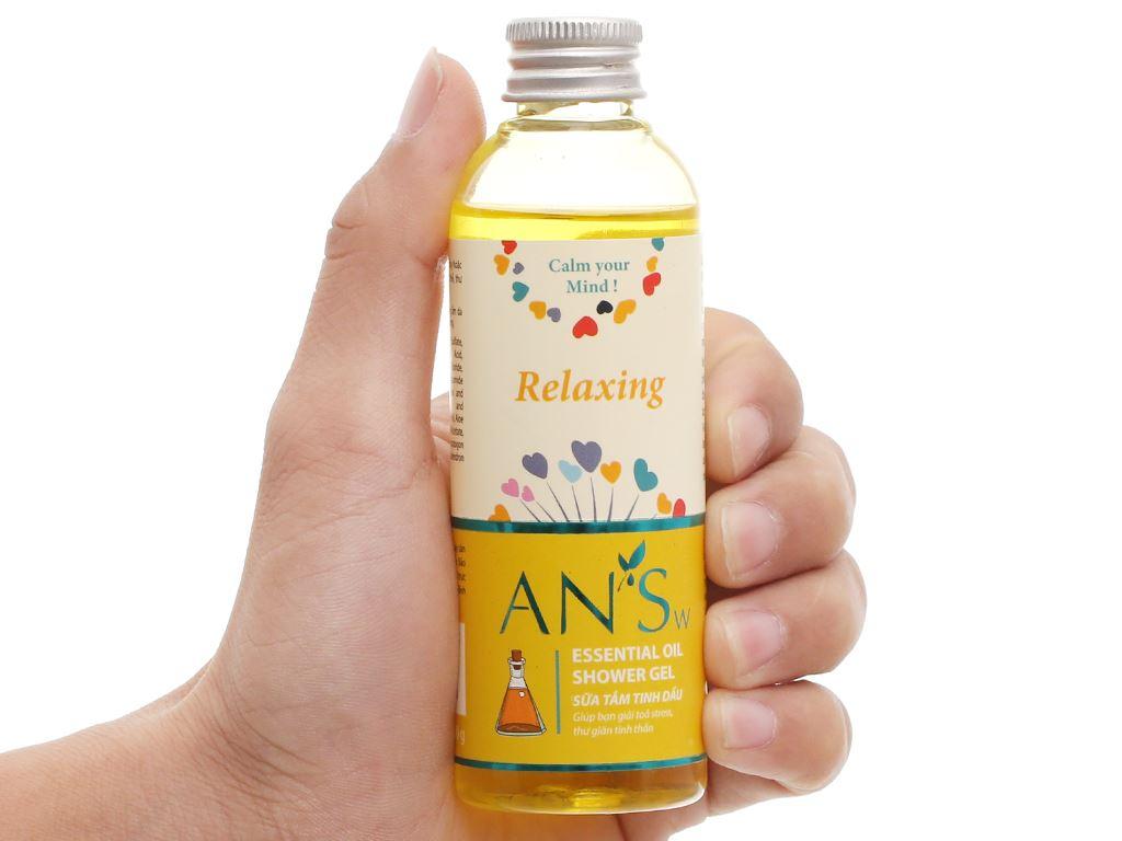 Gel tắm ANSw tinh dầu sả chanh 100g 6