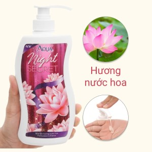 Sữa tắm Aqua up đêm quyến rũ hương nước hoa 700ml