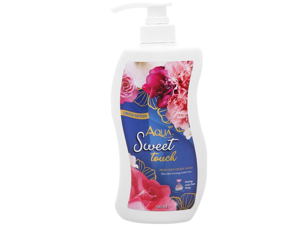 Sữa tắm Aqua up Sweet Touch hương nước hoa 700ml 1