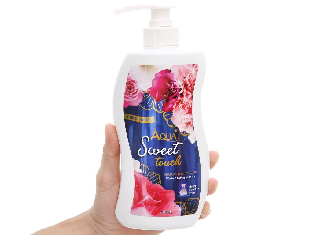 Sữa tắm Aqua up Sweet Touch hương nước hoa 700ml 4