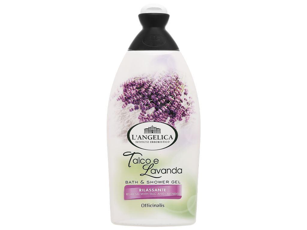 Sữa tắm L'Angelica Talc & Lavander 500ml 1