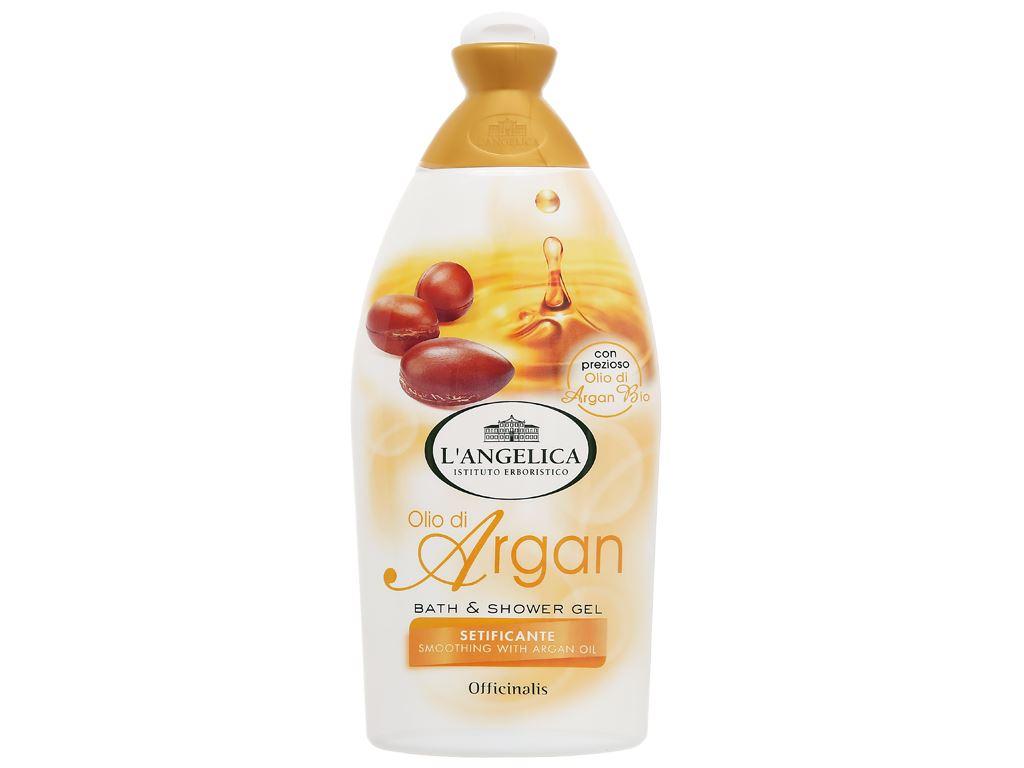 Sữa tắm L'Angelica Argan Oil 500ml 1