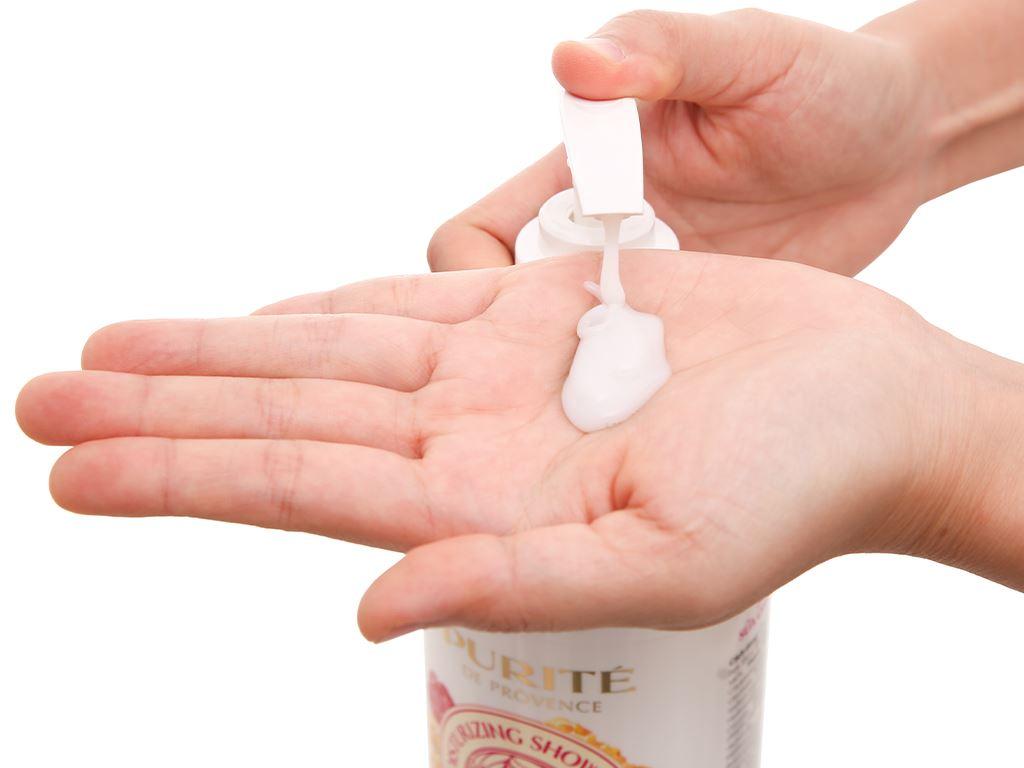 Sữa tắm Purité dưỡng ẩm sữa ong chúa và hoa hồng 850ml 7