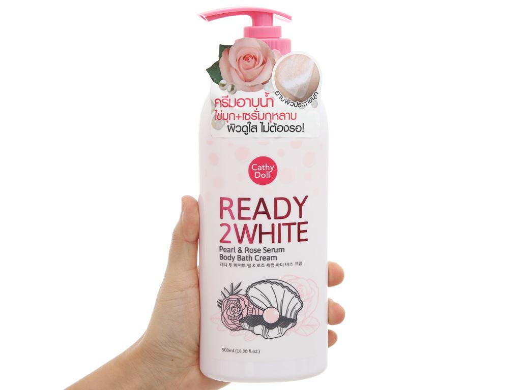 Sữa tắm Cathy Doll ngọc trai và hoa hồng 500ml 4
