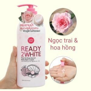 Sữa tắm Cathy Doll ngọc trai và hoa hồng 500ml