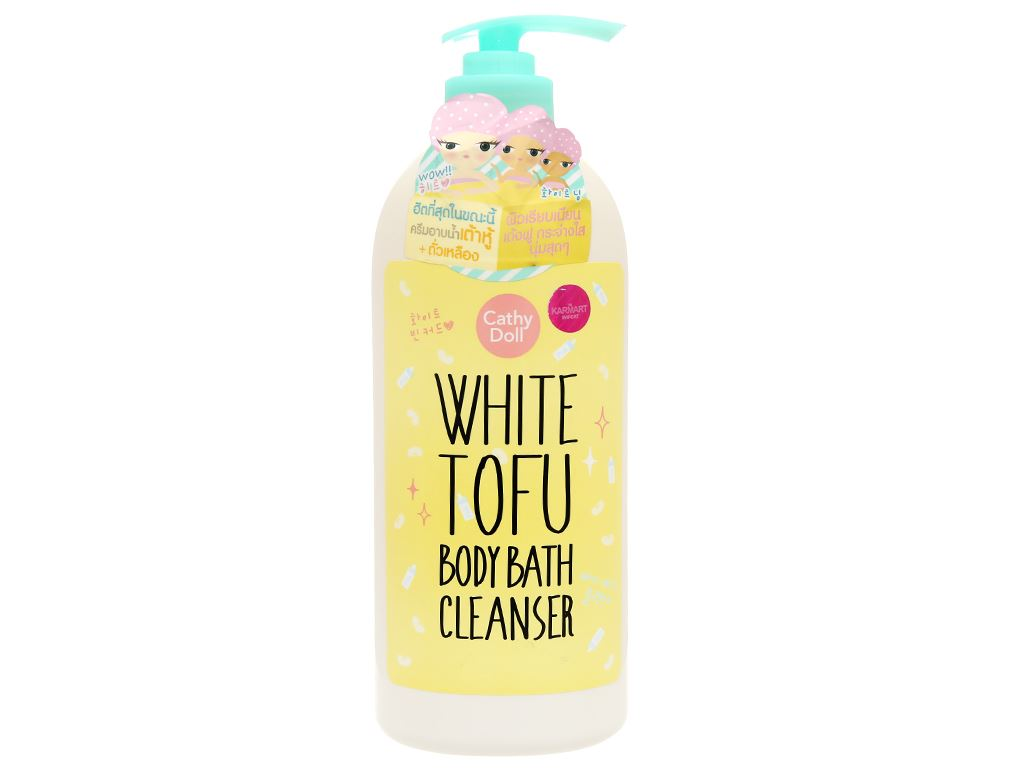 Sữa tắm Cathy Doll White Tofu 750ml 1