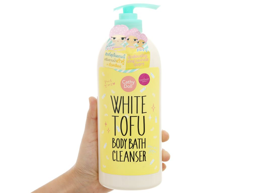 Sữa tắm Cathy Doll White Tofu 750ml 4
