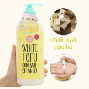 Sữa tắm Cathy Doll White Tofu 750ml