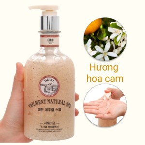 Sữa tắm hạt ON THE BODY Veilment Spa Deadsea Salt 600g