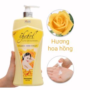 Sữa tắm The Bol tinh chất hoa hồng 1.2 lít